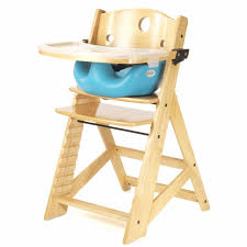 High Chairs For Babies Badger Basket Embassy Adjustable Wood High Chair With Tray