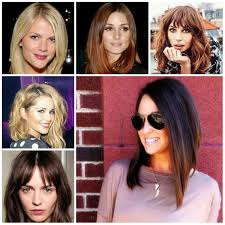 long bob with fringe