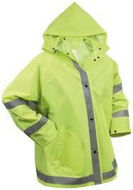 motorcycle rain jacket amazon com rothco reflective rain jacket sports u0026 outdoors