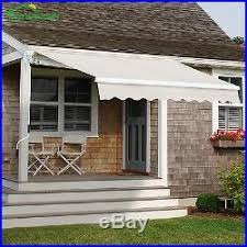Manual Retractable Awning Patio Awnings Canopies And Tents Manual