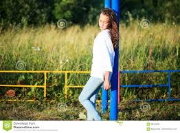 Beautiful Outdoors by Beauty Outdoors Enjoying Nature Teenage Model Running