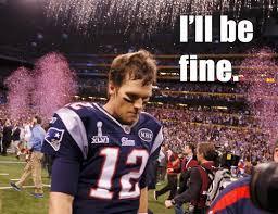 Brady Crying Meme - super bowl recap sad tom brady is sad from dan abramson and funny or