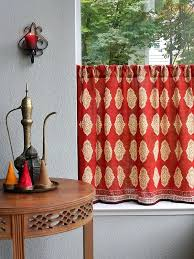 moroccan style curtains tapestry curtain set w valance sheer