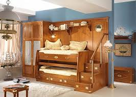 kids bedroom furniture sets sleek orange bunk bed near cupboard