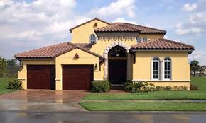 spanish style homes exteriors spanish style homes in florida psg construction