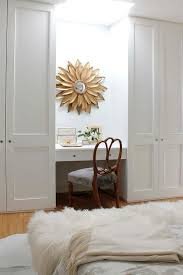 Bedroom Ceiling Mirror by Desk In Front Of Floor To Ceiling Mirror Design Ideas