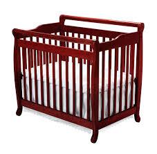 Baby Cribs Convertible Davinci Emily Mini 2 In 1 Convertible Wood Baby Crib Lusso Inc