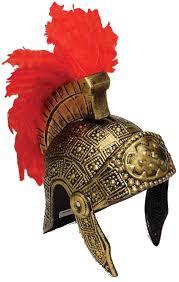 amazon com roman gladiator soldier helmet hat toys u0026 games