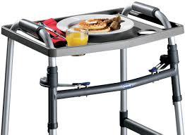 Dinner Tray Tables Easycomforts Dinner Transport Walker Tray Walmart Com