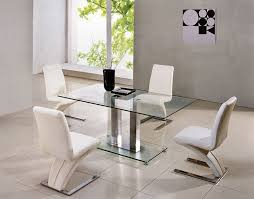 chrome dining room sets unique small glass dining room sets savio small glass chrome dining