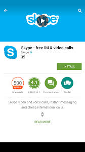 microsoft testing skype preview for android devices
