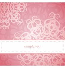 pink strips valentines card or wedding invitation vector image
