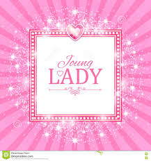 Cute Pink Pictures by Cute Pink Frame Vector Illustration Royalty Free Stock Photo