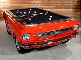 Pool Table Price by 1965 Ford Mustang Collectors Edition Pool Table