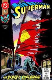 the death of superman wikipedia