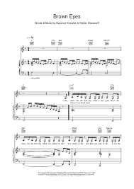 brown sheet for piano and more