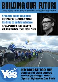 time to build our future robin mcalpine tickets sat 23 sep
