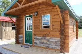 tiny rustic cabins are catching on woodhaven log lumber