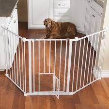 Large Pressure Mounted Baby Gate Dog Gates Flexi Wall Mounted Gates At Drs Foster U0026 Smith