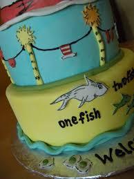 dr seuss themed baby shower cake main made custom cakes
