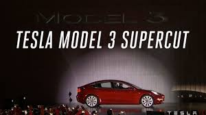 tesla model 3 launch event in 5 minutes youtube