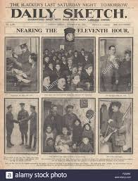 1915 front page daily sketch new recruits for the british army and