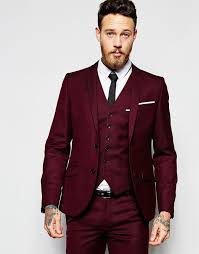 wedding mens 11 burgundy suits for your wedding mens wedding style