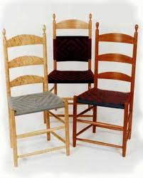 Shop Dining Chairs Shaker Dining Chairs At The Woods Chair Shop Shaker
