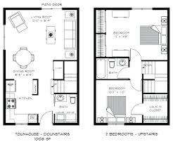 town house floor plans two bedroom townhouse medium image for townhouse floor plans house