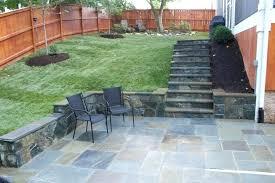 Design For Outdoor Slate Tile Ideas Patio And Garden Design Ideas Backyard Floor Tiles Creative Of