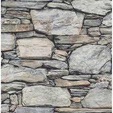 i love wallpaper distinctive slate stone wall wallpaper natural grey light beige ilw980062 p3002 9471 image jpg