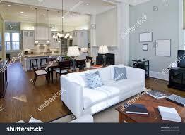 luxury studio apartment open floorplan design stock photo 23175850