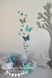 decoration chambre fille papillon charmant decoration chambre fille papillon et stickers
