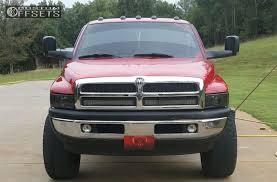 custom 99 dodge ram wheel offset 1999 dodge ram 1500 aggressive 3 5 suspension