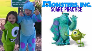 Monsters University Halloween by How To Scare People Disney Monsters University Inc Scare Practice