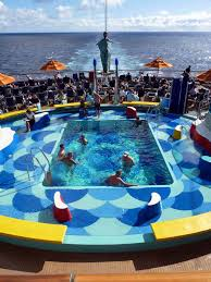 carnival dream deck plan pictorial 1
