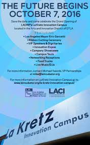 Invitation Card For Grand Opening Ladwp U0027s La Kretz Innovation Campus Grand Opening Tickets Fri Oct
