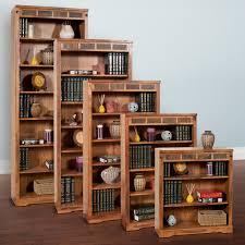 martin home furnishings contemporary wood bookcase series oak