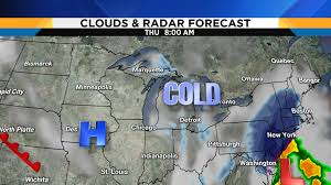 Travel Weather Map Metro Detroit Weather Forecast Cold Blast On The Way