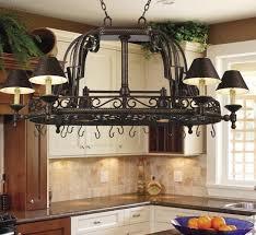 kitchen island lighting with pot rack u2013 illuminate life