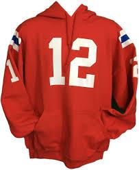 patriots brady gronkowski jersey hoody nfl afc