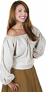 peasant blouse amazon com womens sleeve peasant blouse size standard 6 10