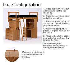 Student Desk Dimensions Furniture Dimensions U0026 Lofting Instructions Housing Students