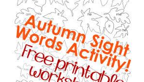 printable fall worksheets squarehead teachers