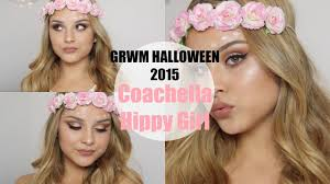 grwm halloween 2015 coachella hippy aidette cancino