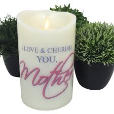 flameless candle gift ideas for mother led candle best