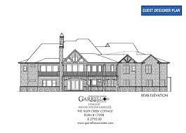 tiger creek cottage house plan house plans by garrell associates