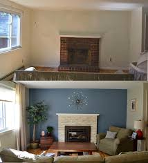 How To Choose An Accent Wall by Weafer Design Before And After Living Room And Dining Room Makeover