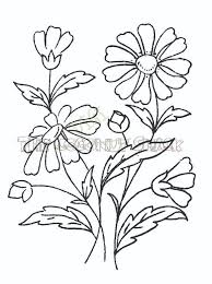 bunch of flowers drawing clipart panda free clipart images