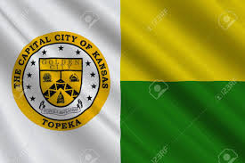 Flag Capital Flag Of Topeka Is The Capital City Of The State Of Kansas United